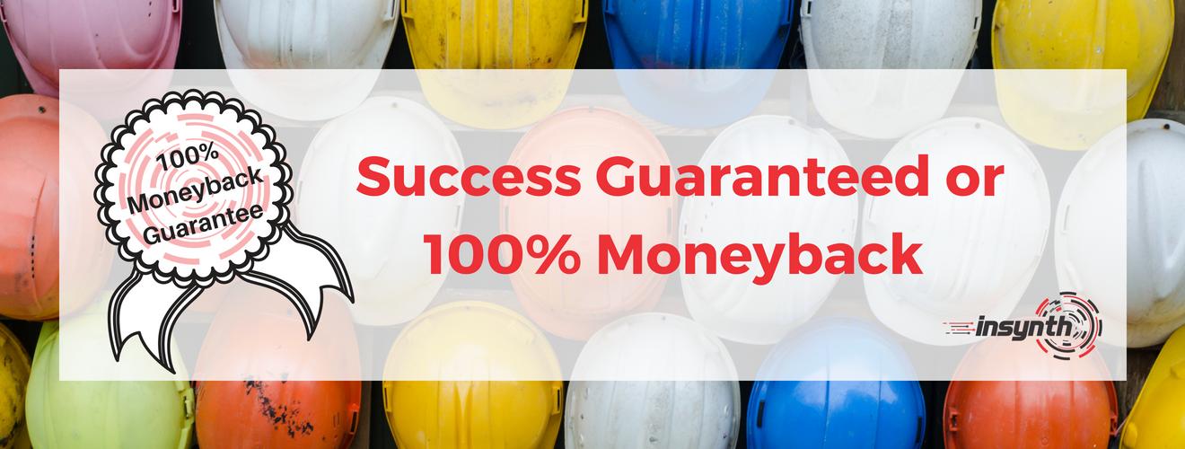 100 Money Back Guarantee