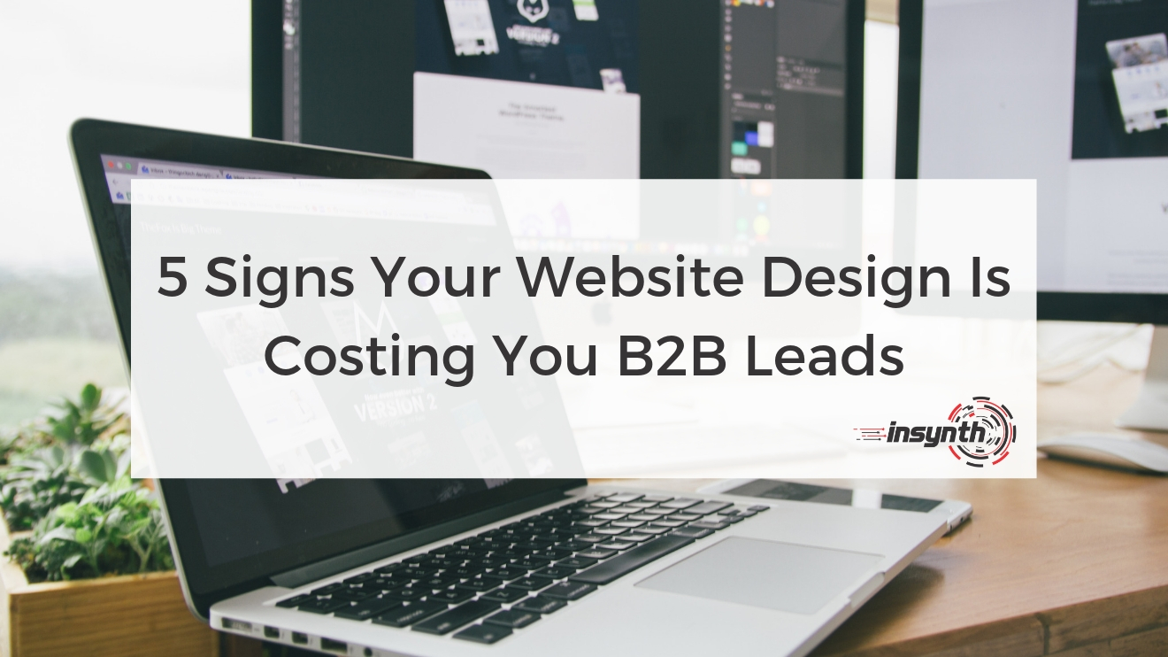 5 Signs Your Website Design Is Costing You B2B Leads - Construction marketing - growth agency - shropshire - Insynth