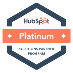 construction marketing agency, hubspot certified badge