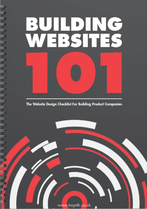 Building Websites 101 - Design Guide For Building Product Websites