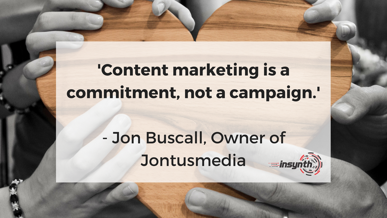 Construction content marketing is a commitment, not a campaign