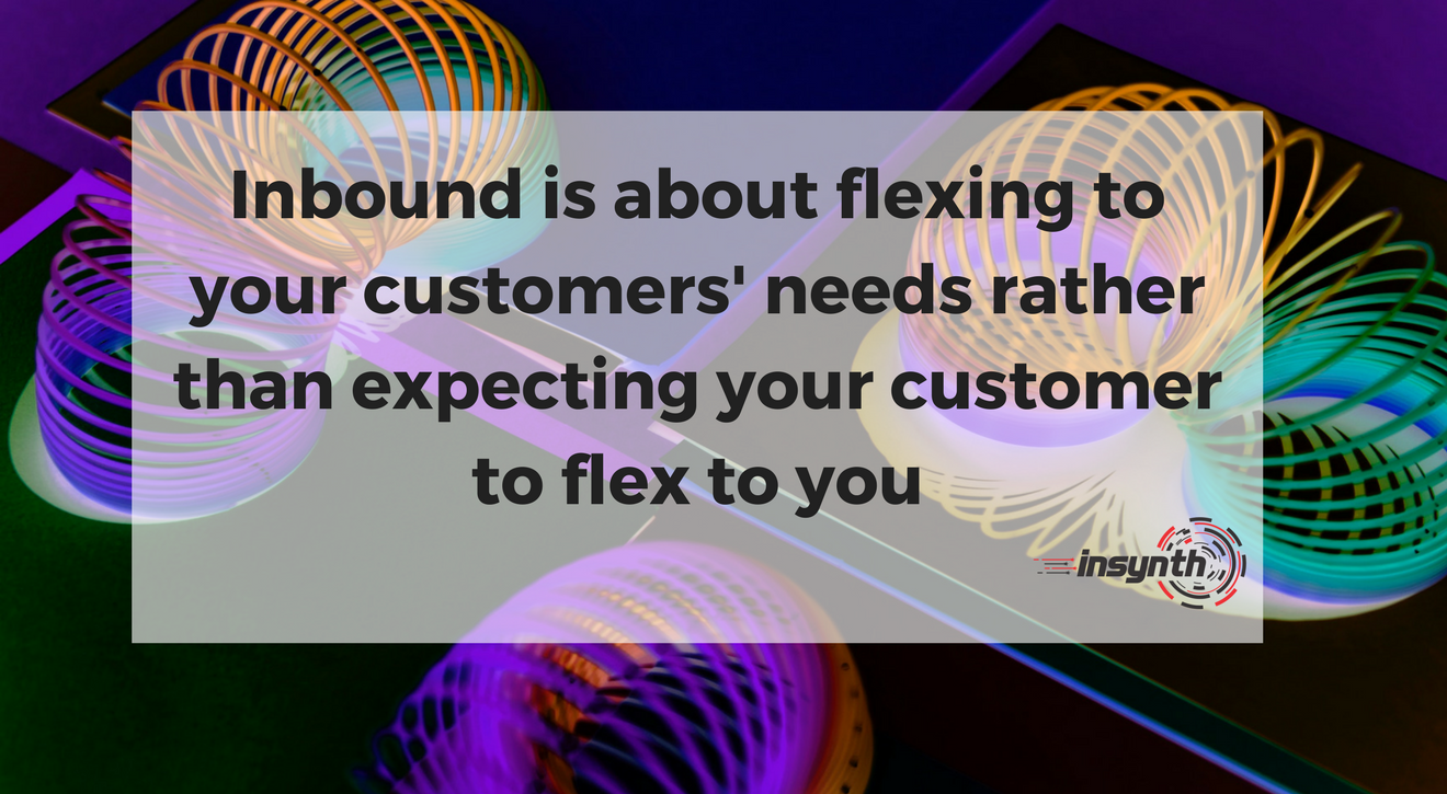 Flexing to your customers needs