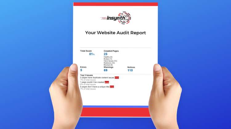 Free SEO Website Audit For Building Products