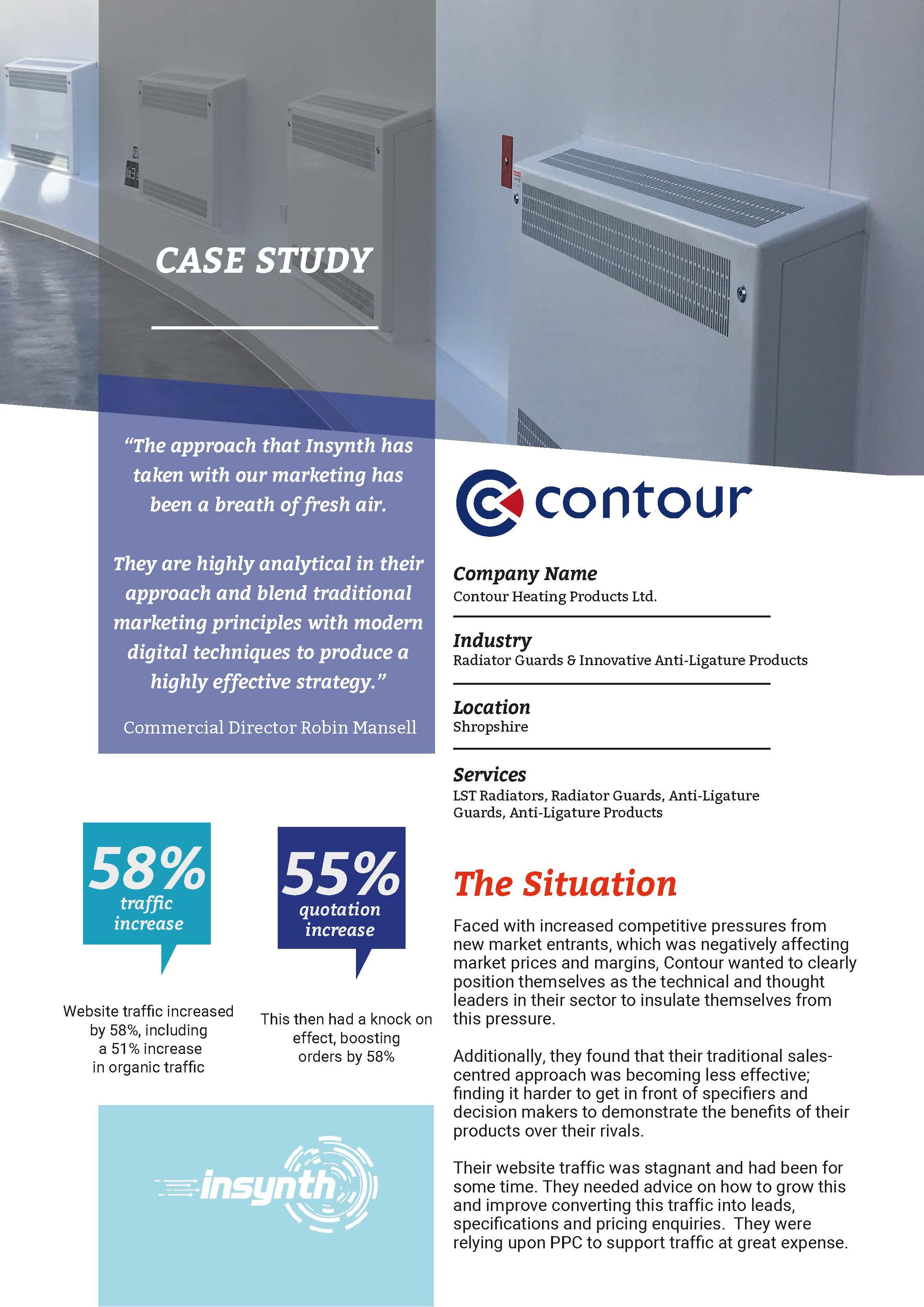 Front Cover Contour Case Study