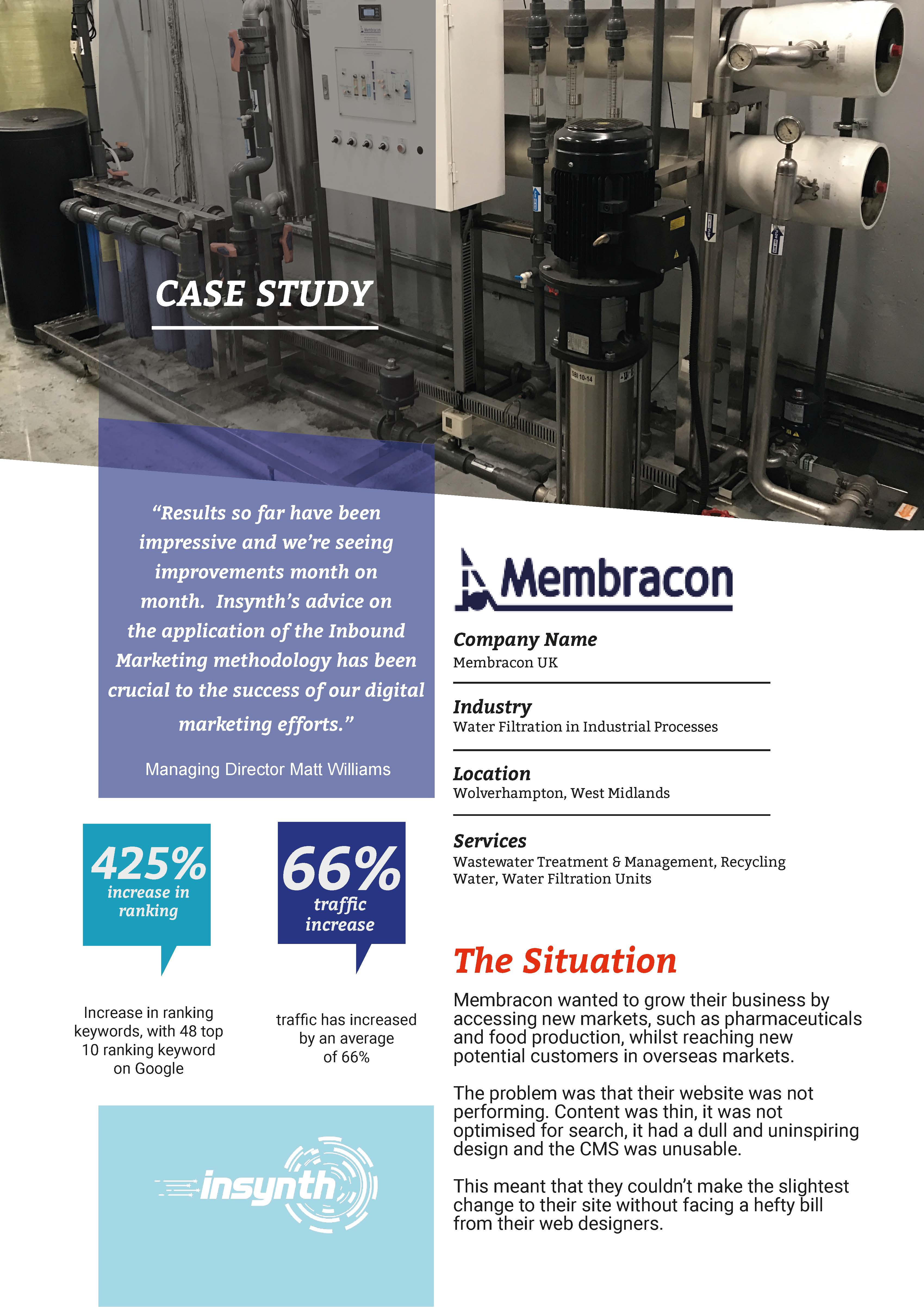 Front Cover Membracon Case Study