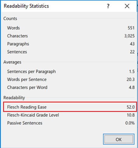 Infographic_ Readability Scores On Word (1)