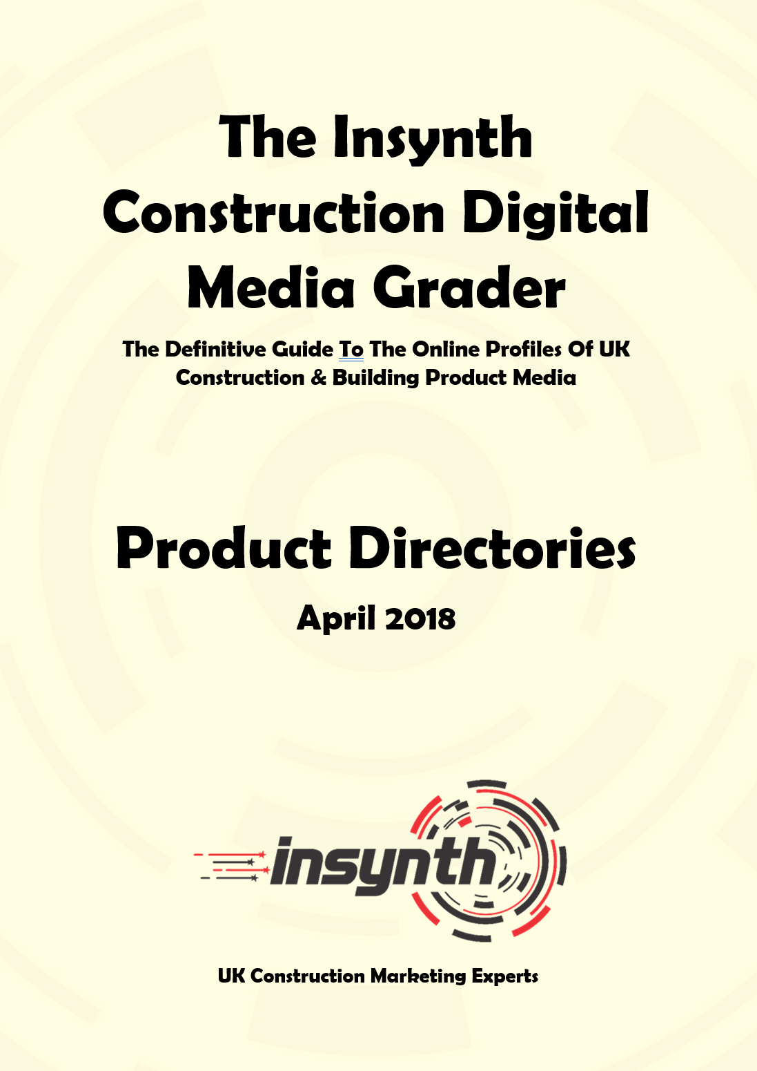 Construction Digital Media Grader Report - Product Directories