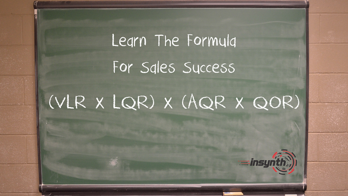 The Formula For Sales Success