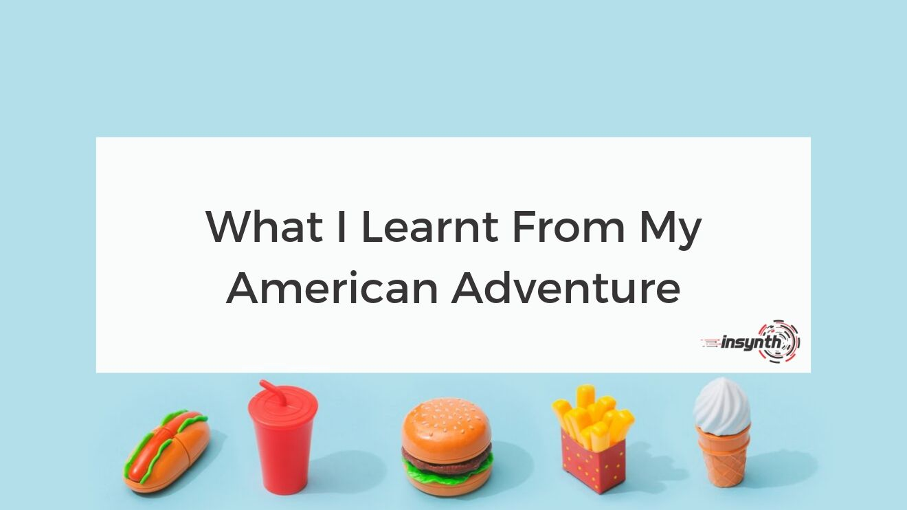 What I Learnt From My American Adventure