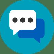 communication icon digital marketing report