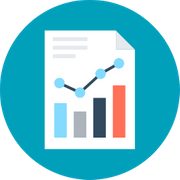 content icon digital marketing report