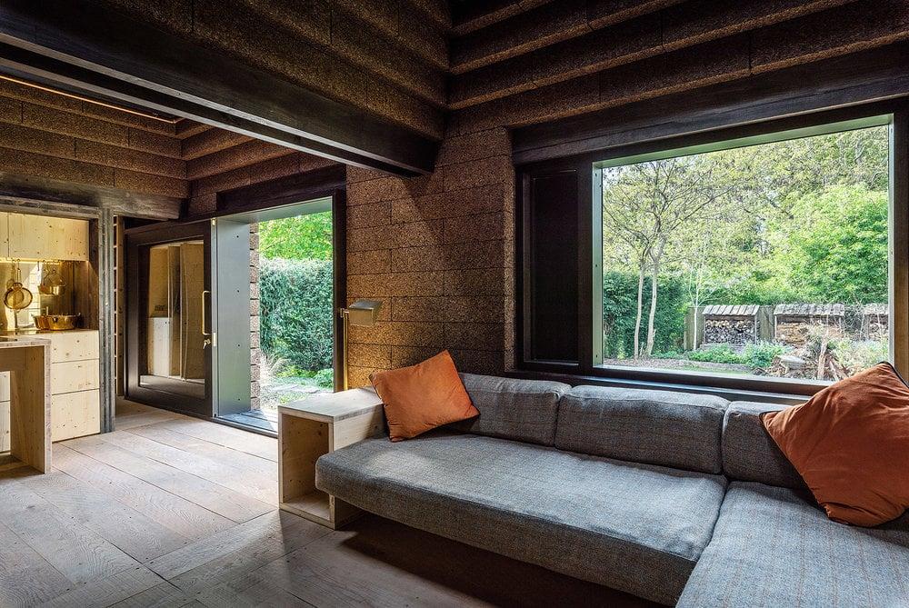 Cork House Berkshire living room