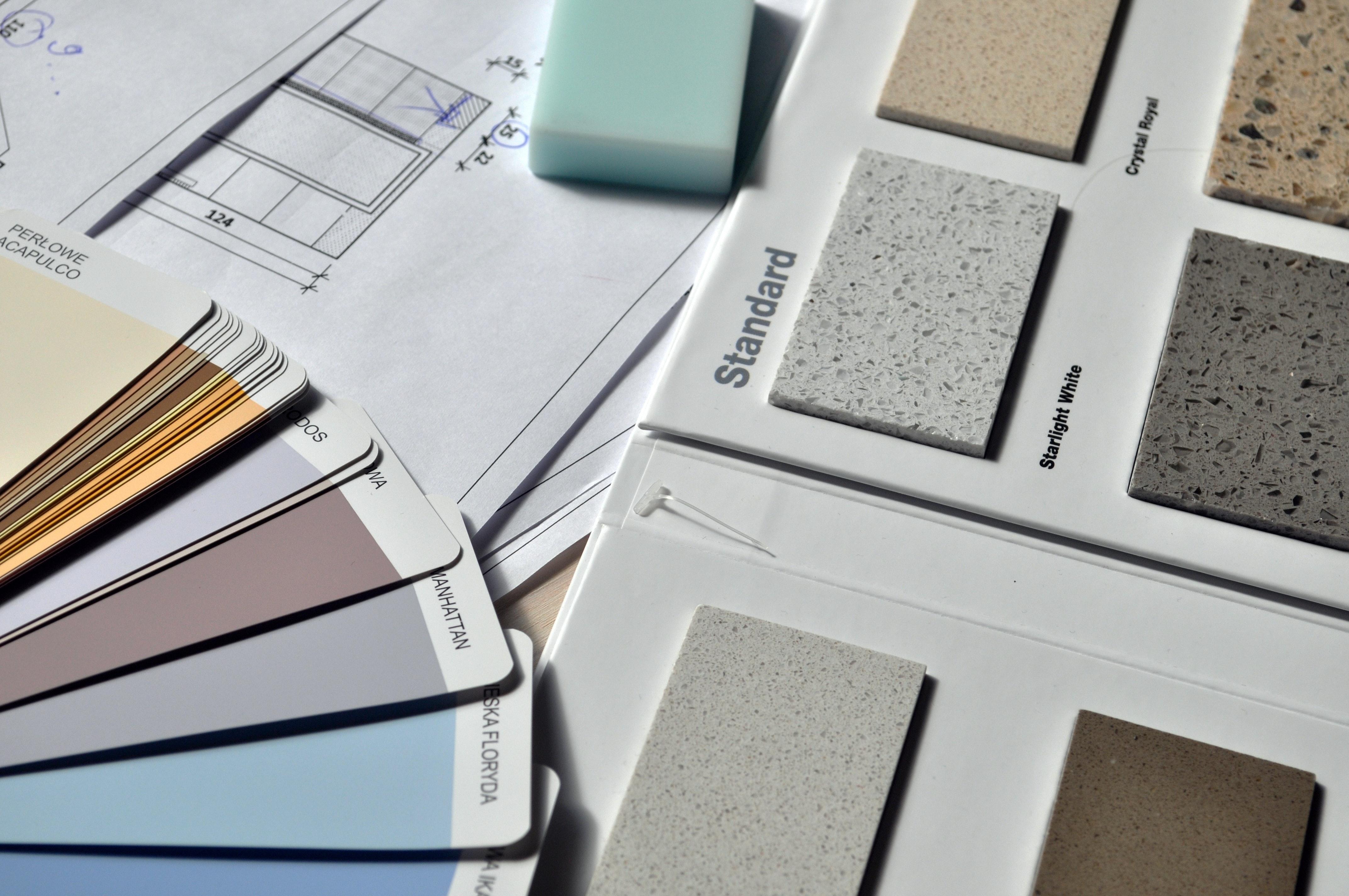 choosing a colour palette for your building product website