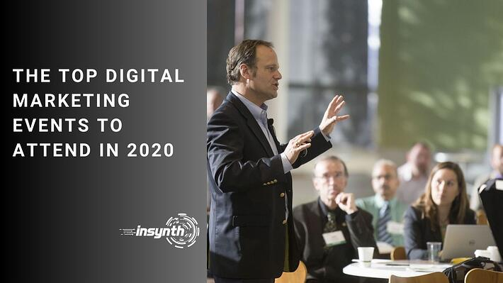 the top digital marketing events to attend in 2020 - digital marketing construction experts