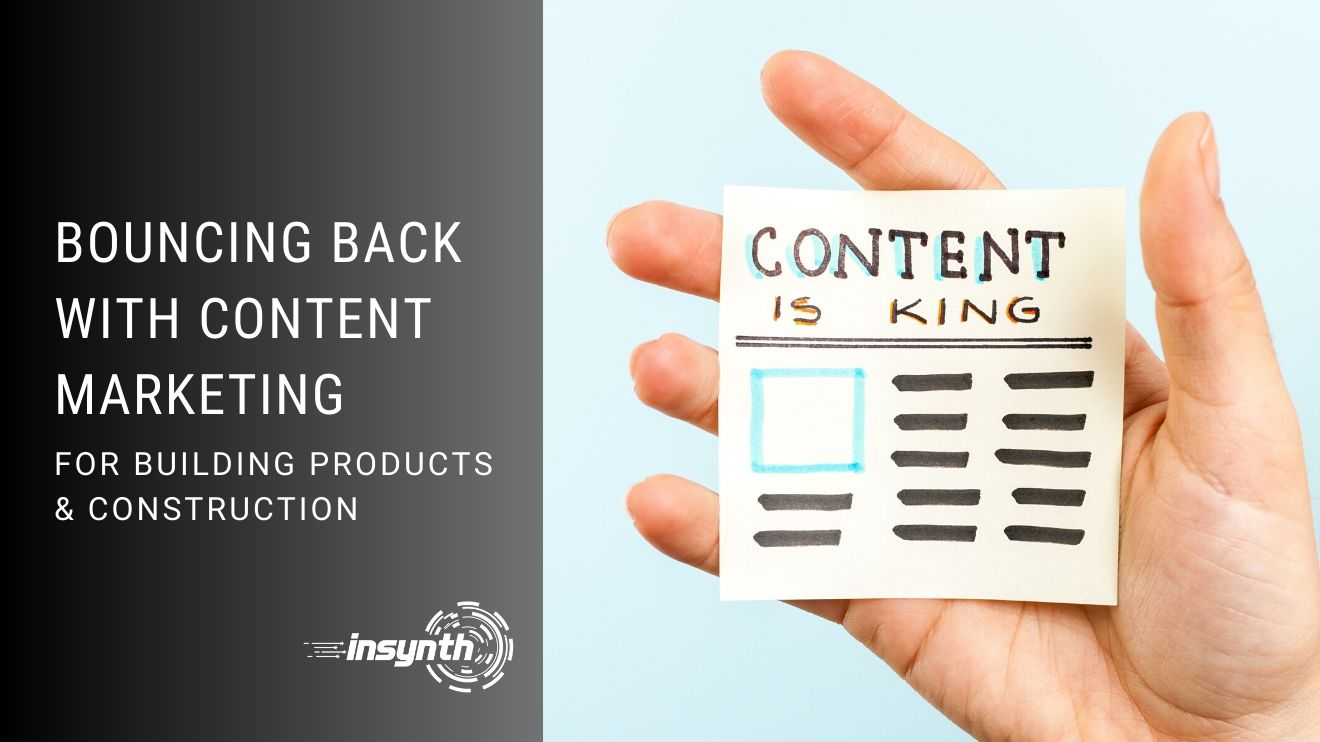 Bouncing Back With Content Marketing
