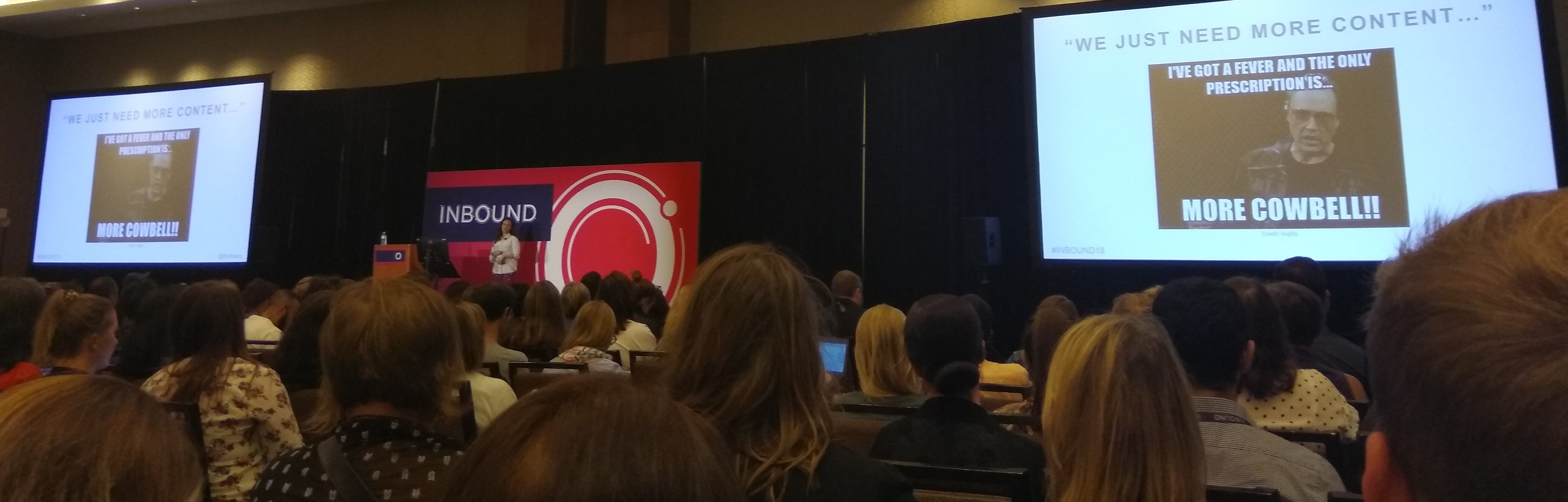 Live @ #INBOUND18: Content Remixing - How To Succeed At Content Marketing Without Creating Anything New