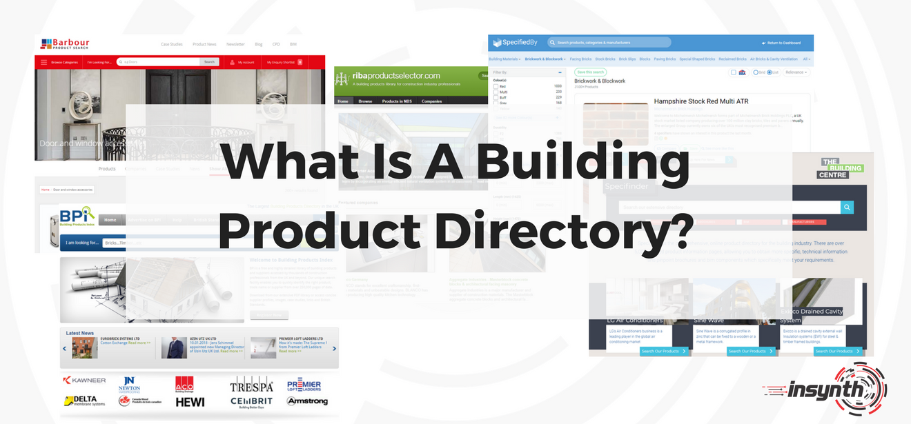 What Is A Building Product Directory