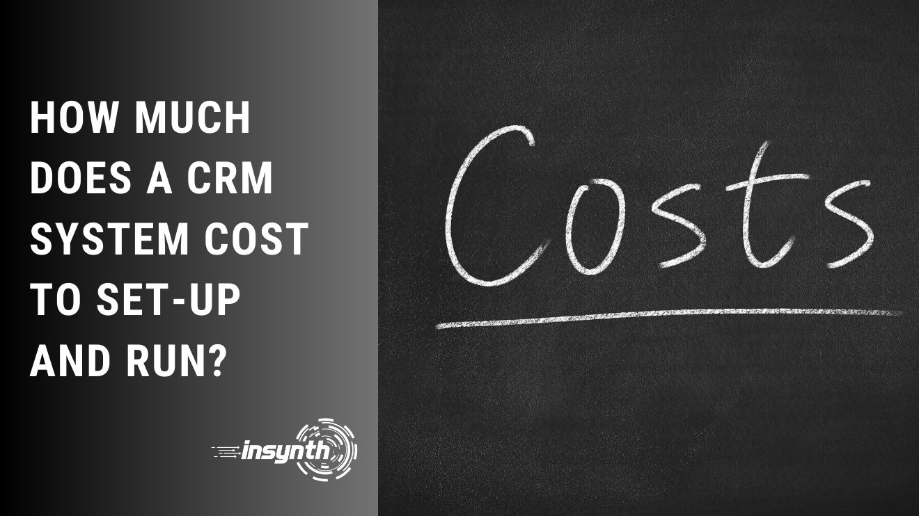 How Much Does A CRM System Cost To Set-up and Run? | For Building Products and Construction Marketing