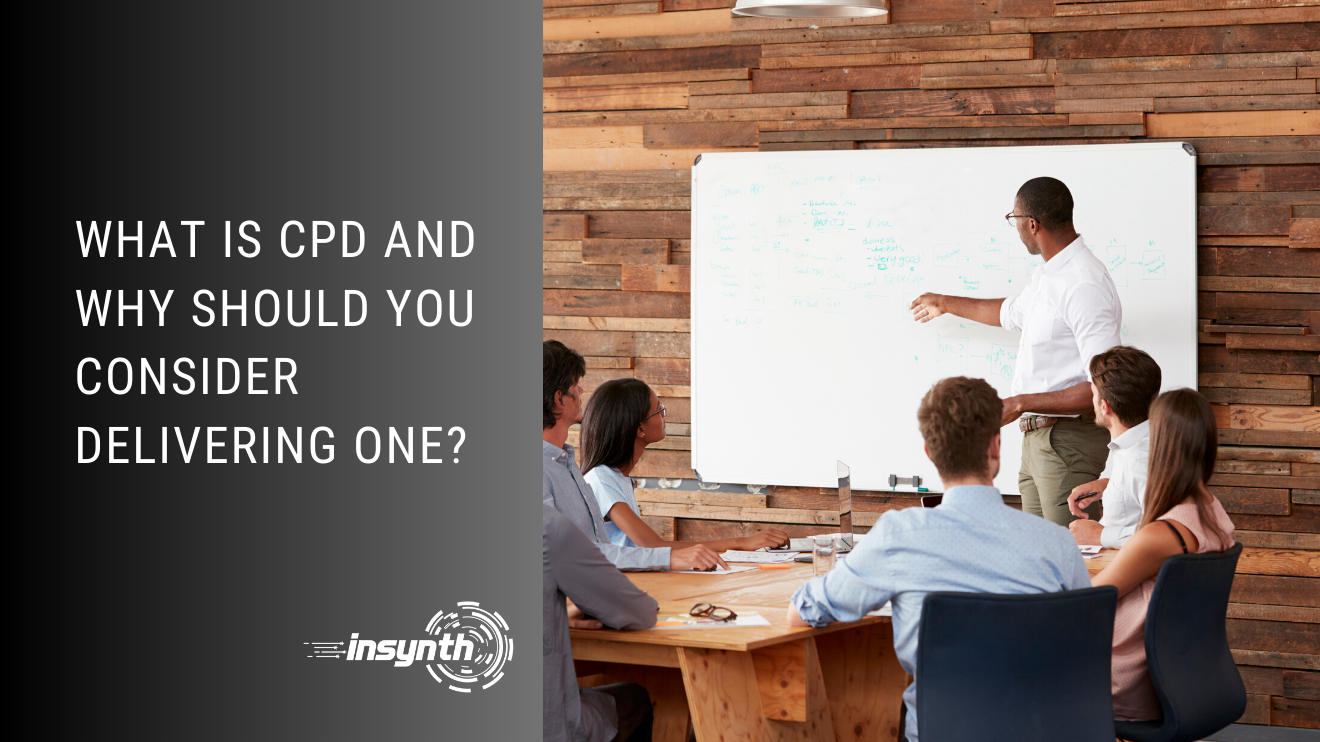what is CPD and why should you consider delivering one?