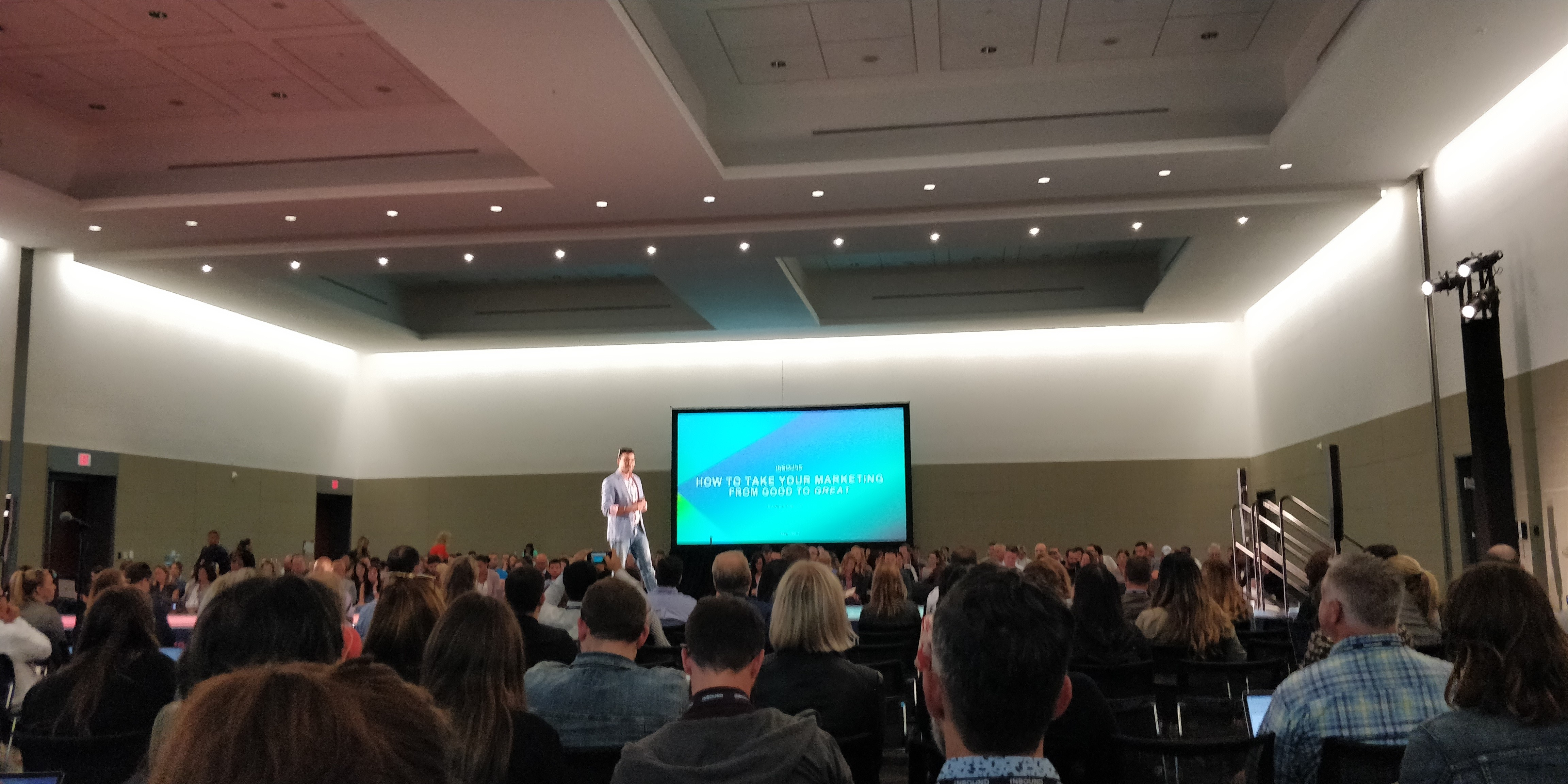 Insynth @INBOUND19 - How To Take Your Marketing From Good To Great