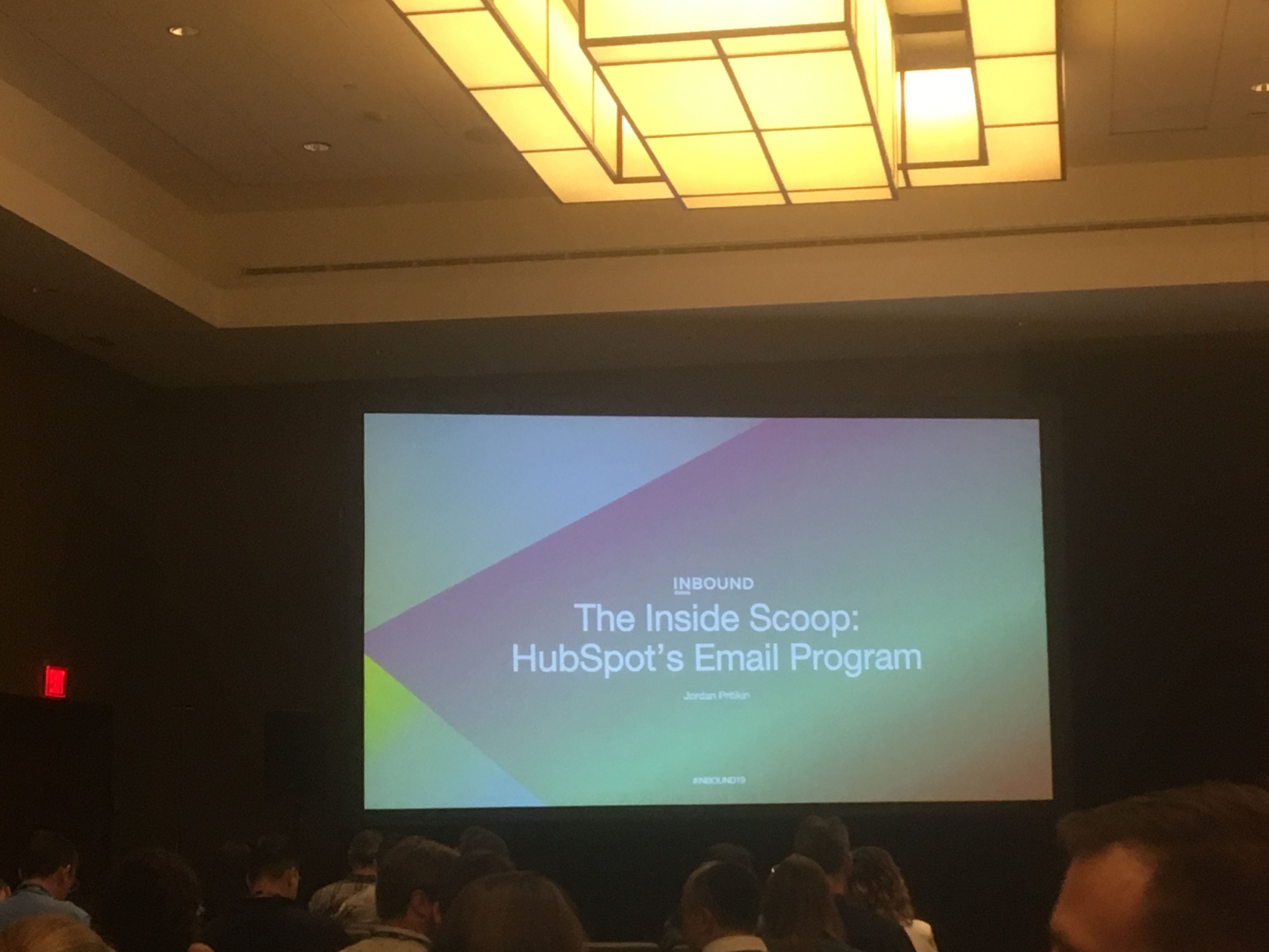 Insynth @INBOUND19 - The Inside Scoop: HubSpot's Email Program