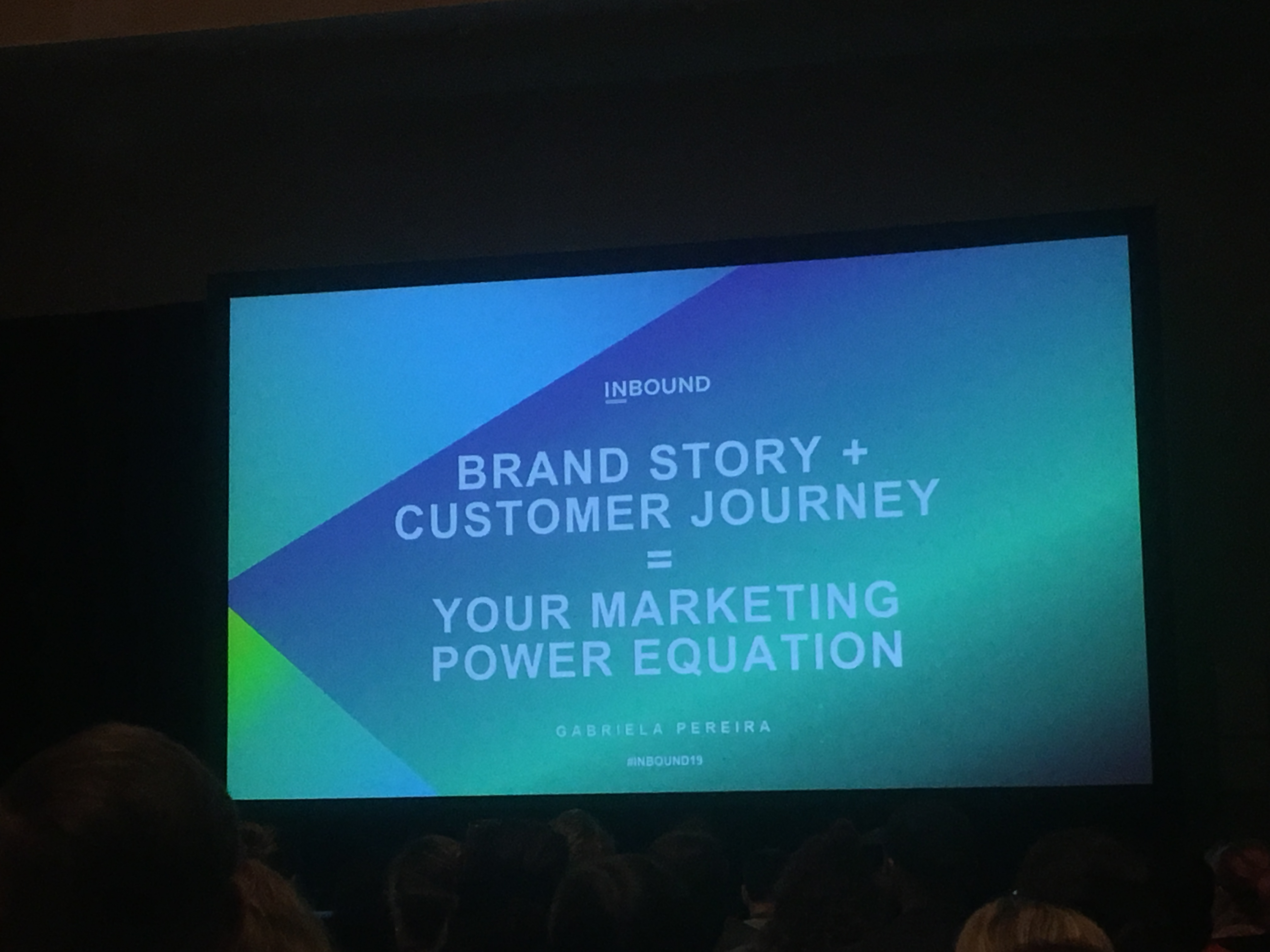 Insynth @INBOUND19 - Brand Story + Customer Journey = Your Marketing Power Equation
