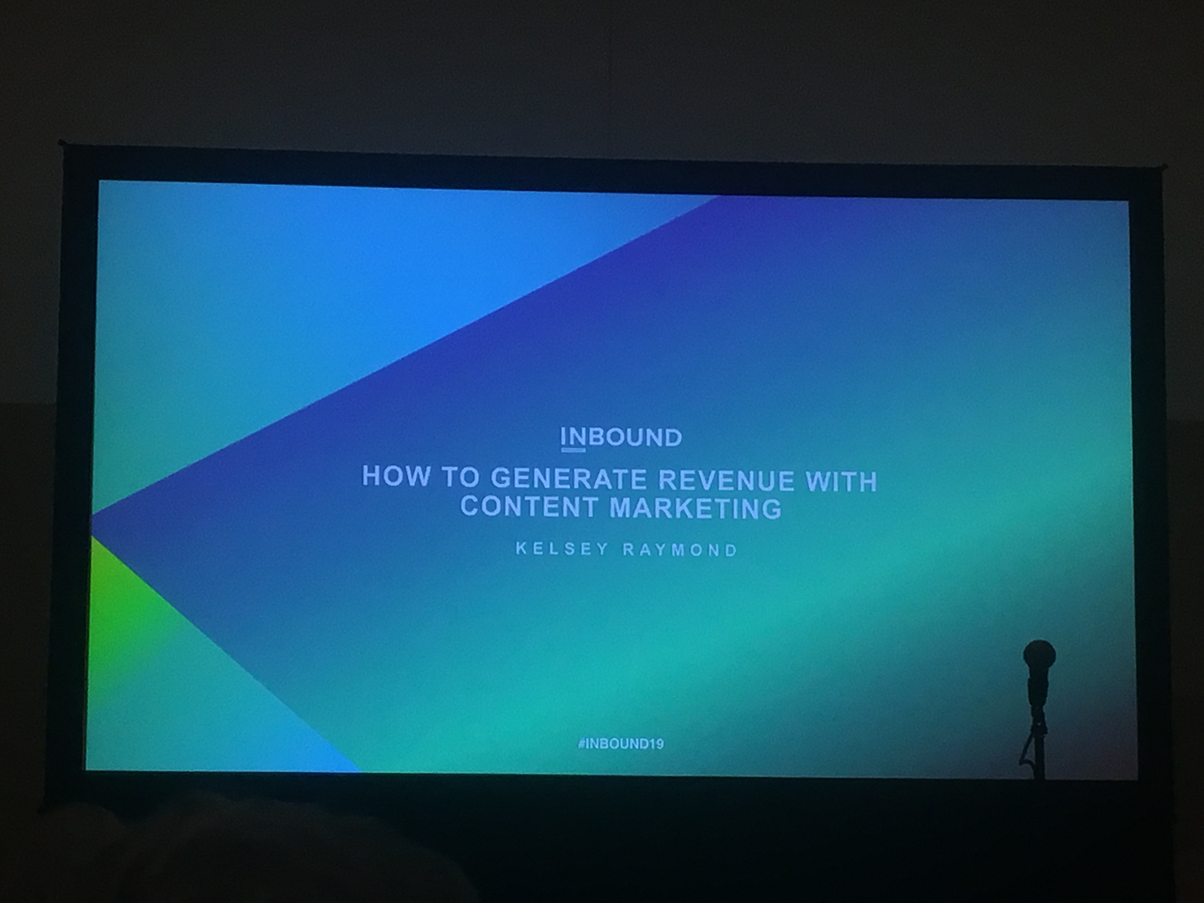 Insynth @INBOUND19 -How to Generate Revenue with Content Marketing